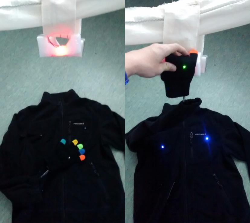 Preschooler safety wearable